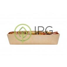 Лоток для хот-дога TRAY-HD 165*70*40 мм, крафт картон