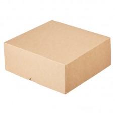 Упаковка для десерта крафт (255х255х105мм) 6000мл