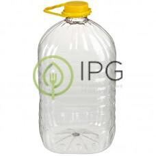 Бутылка с крышкой и ручкой 5л, d=48мм