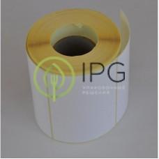 Термотрансферные этикетки полуглянец 100х72 (1000 штук в рулоне)
