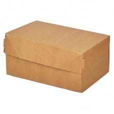Упаковка для десерта крафт (150х100х85мм) 1200мл