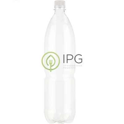 Бутылка с крышкой 1,5л, d=28мм