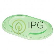 Крышка СпК-1409К (146*97*12мм), зеленая