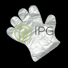 Перчатки полиэтиленовые одноразовые 100шт в упак, размер L, AVIORA, упак