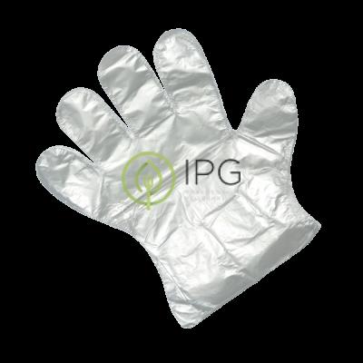 Перчатки полиэтиленовые одноразовые 100шт в упак, размер М, AVIORA, упак