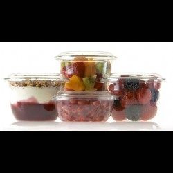 Серия Tri-Pots Стакан десертный прозрачный ТРИПОТ PET.  Объемы: 170 мл, 300, 440 мл