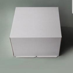 Короб для торта хром-эрзац 300×300×190.