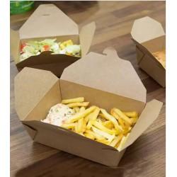 Бумажные контейнеры для горячего, салатов и десертов. BioBox – Ваша эффективная био упаковка.
