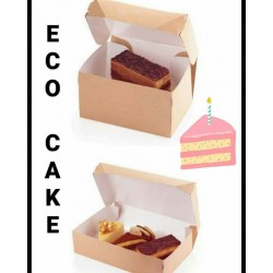 Коробки Есo Cake отлично подойдут для Ваших пирожных🍰